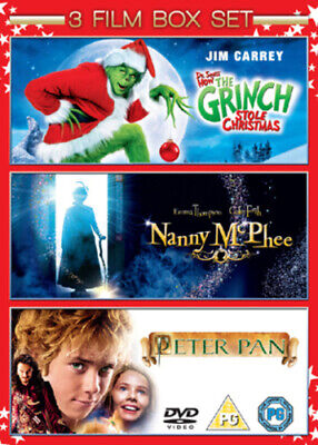Nanny McPhee/The Grinch/Peter Pan DVD (2009) Jeremy Sumpter