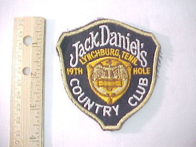 Jack Daniels Country Club 19th Hole Patch