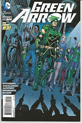 Green Arrow #40 (May 2015, DC Comics) The New 52!