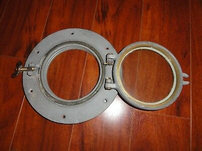 VINTAGE NEW WC Wilcox Crittenden #5 SHIP BOAT Porthole Galvanized Steel NAUTICAL