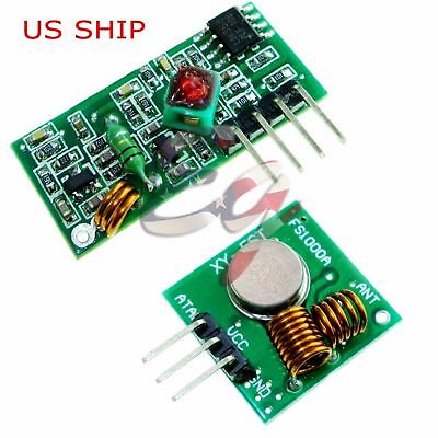 433Mhz RF Transmitter and Receiver Module link kit for Arduino - USA seller