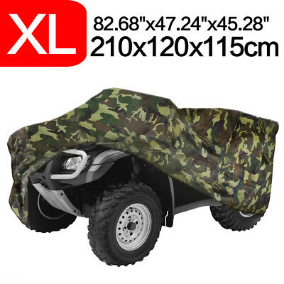 XL Camouflage Quad Waterproof ATV Storage Cover For Polaris Honda Yamaha Can-Am
