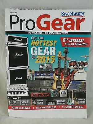 SWEETWATER PRO GEAR CATALOG MAGAZINE ~ SPRING 2015 ~ 600+ Pages ~ VG Condition