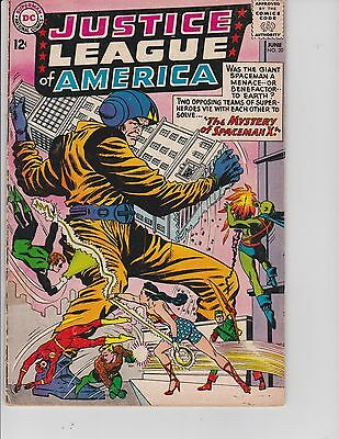 Justice League of America  #20 (GD  2.0) June-1963,  DC