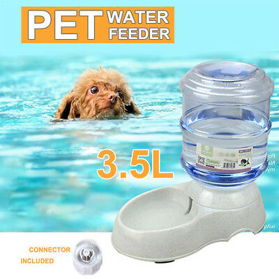 Pet Water Fountain For Cat Dog Automatic Food Bowl Dish Feeder /Food Dispenser