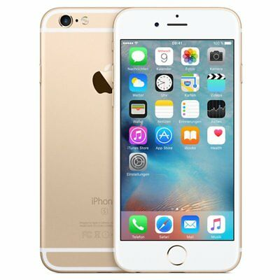 Apple iPhone 6S 16GB Gold Wie Neu - OHNE SIMLOCK Jun