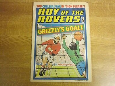 April 1978, ROY OF THE ROVERS, Steve Wicks, Laurie Cunningham, Donald Blackmore.