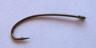 black 2x Long Dry Fly, bass bug, stonefly, bombers, hoppers 5212 #4 50