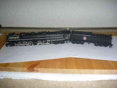 Sunset Models HO Scale Brass Great Northern Z6 4-6-6-4 Challenger DC