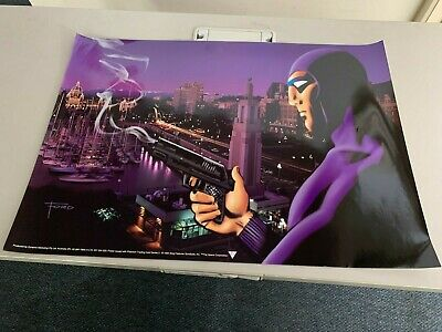 "Australia Dynamic Marketing "" Phantom In The City "" Large Poster x 4 -- Nice"