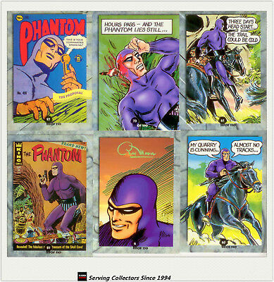 Australia Dynamic PHANTOM SERIES 1 TRADING CARD Complete collection (110+6+1)