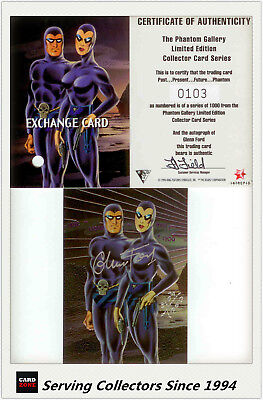 Dynamic The Phantom Gallery Trading Card Signature Redemption Card P1 (Redeemed)