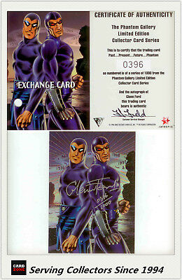 Dynamic The Phantom Gallery Trading Card Signature Redemption Card P2 (Redeemed)