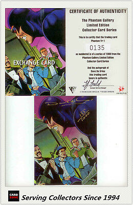 Dynamic The Phantom Gallery Trading Card Signature Redemption Card Y1 (Redeemed)