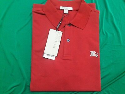 a3e449235 NEW BURBERRY BRIT Men s Military Red Casual Polo Shirt -  65.99 ...