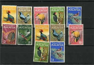 Malaysia. 10 -- Umm/used Stamps On Stockcard.includes $5