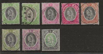 Southern Nigeria  Sg 1/6  1901/2 Q.v. Set To 1/-   Fine Used