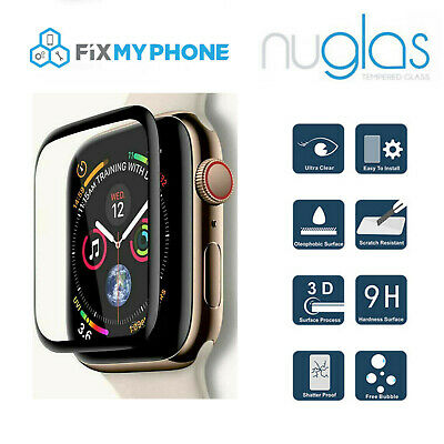 Nuglas Tempered Glass Screen Protector For Apple Watch iWatch 1 2 3 38mm  42mm