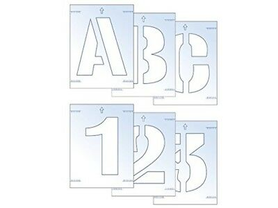 Scan 50mm Letter and Number Stencil Kit