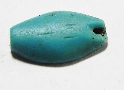 Zurqieh - As5994- Ancient Egypt,  Glass Bead. New Kingdom. 1400 B.c