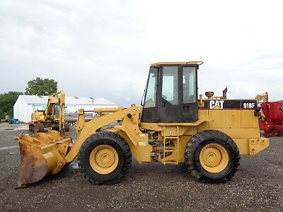 Caterpillar 918F Wheel Loader