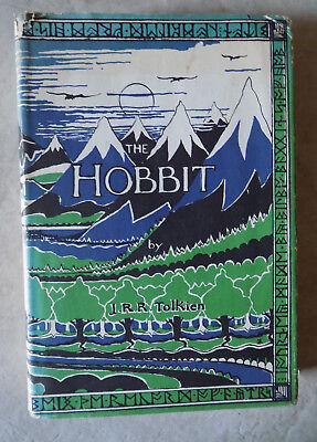 THE HOBBIT: Or There and Back Again ~ J. R. R. Tolkien, 1966 Hardcover/Jacket