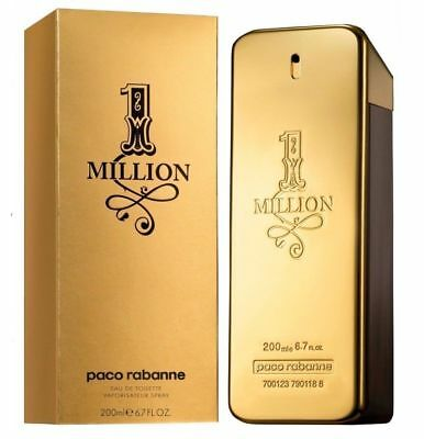 paco rabanne 1 One Million 200ml EdT Eau de Toilette Spray NEU/OVP