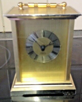 Small Quartz Carriage Clock Working Order