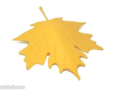 QUALY Home Office Houseware Living Styles Home Autumn Leaf Door Stopper YELLOW
