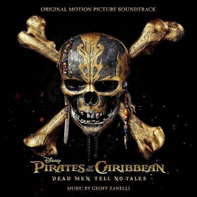 Pirates of the Caribbean: Dead Men Tell No Tales CD (2017) ***NEW***