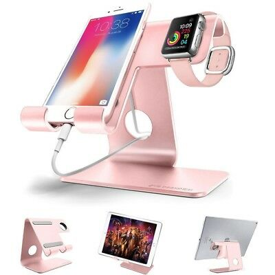 2 in 1 Universal Cell Phone Stand apple iwatch charging stands docking Station