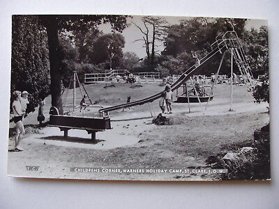 Children's Corner, Warners Holiday camp, St.Clare, I.O.W. - vintage real photo