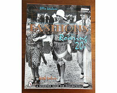 Fashions of the Roaring 20's w/Values Ellie Laubner 1996 SB Book