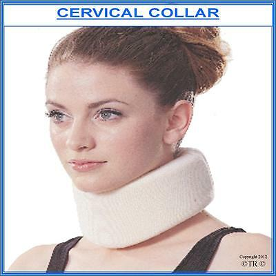 CERVICAL COLLAR , Adjustable Unisex Soft Foam for Comfort and Support.