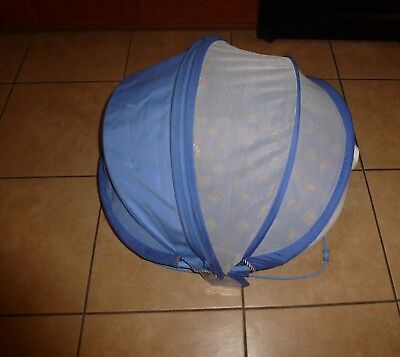 Fisher Price Bounce N Play Activity Dome  '01 Bassinet Screened Bug NET!
