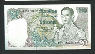 Thailand 1971-81 20 Baht P 84 Circulated