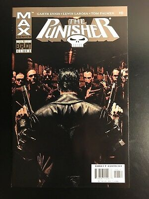 The Punisher # 6 MAX Comics (2004) NMMNT+