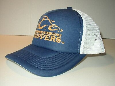 OCC Orange County Choppers Blue/White Trucker Cap w/ Adjustable Strap