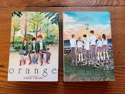 Orange Complete Collection Vol. 1 & 2 in English by Ichigo Takano - Manga
