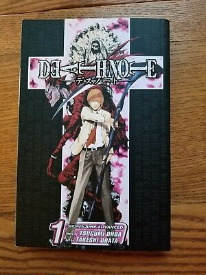 Death Note  Volume 1 (English - Paperbook) By Tsugumi Ohba & Takeshi Obata