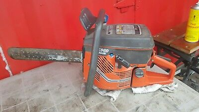 "HUSQVARNA K960 16"" CONCRETE CHAIN SAW GAS POWERED Rebuilt top end"