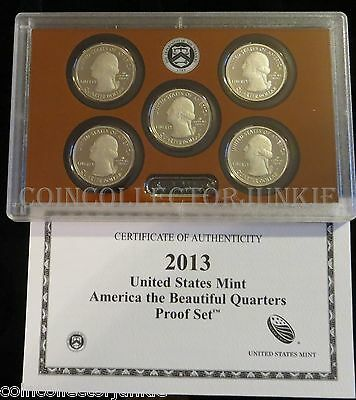 """The 2013-S United States Mint """"America the Beautiful"""" Quarters Proof Set"""