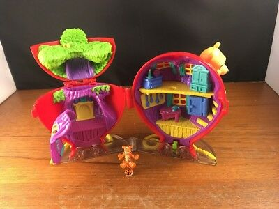 Vintage Polly Pocket Winnie The Pooh Balloon With Tigger Figure
