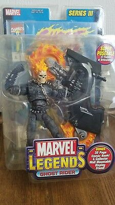 "Marvel Legends Series III Ghost Rider 6"" Action Figure"