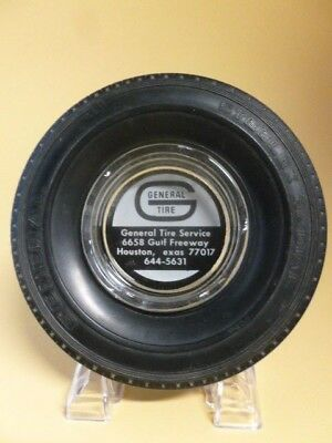 Vintage General Tire Promotional Advertising Tire Ashtray