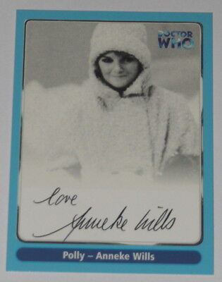 Doctor Who Cornerstone Series 1 Autograph Card, A6 Anneke Wills