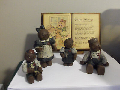 "SARA'S ATTIC ""GINGER BABIES"" COLLECTIBLES/ 6 pieces / 1989/ RETIRED/GREAT BUY!"