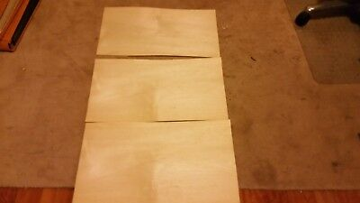Silver Ash Woodworking Timber Verneer 300 x 530 x .050 x 3 sheets