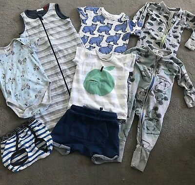 Baby Boys 3-6months Mixed items. Pure Baby, Seed, Bonds Mickey And More