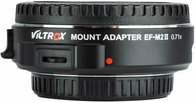 Viltrox EF-M2 Auto Focus Lens Mount Adapter 0.71x - IN STOCK, IMMEDIATE SHIPPING